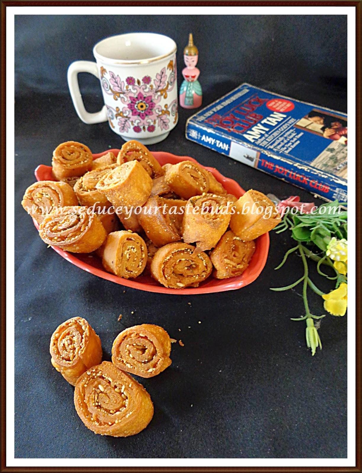 Bhakarwadi - Maharashtrian Snack ~ ICC