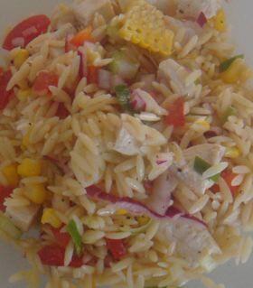 Summer Pasta _ Orzo Salad