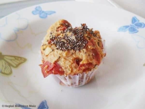 Muffin Salgado com Chia