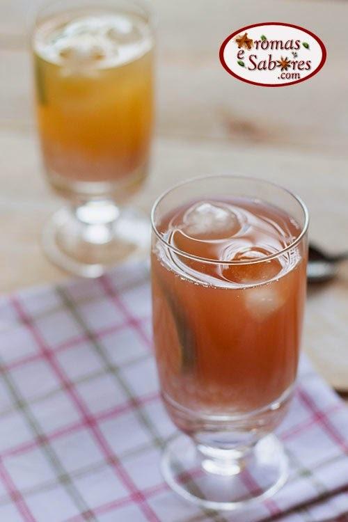 Receita de bubble tea - chá de bolinhas