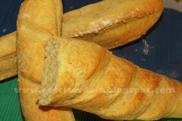 Pão francês caseiro
