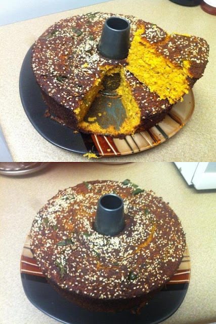Vegetable cake ( Handvo)