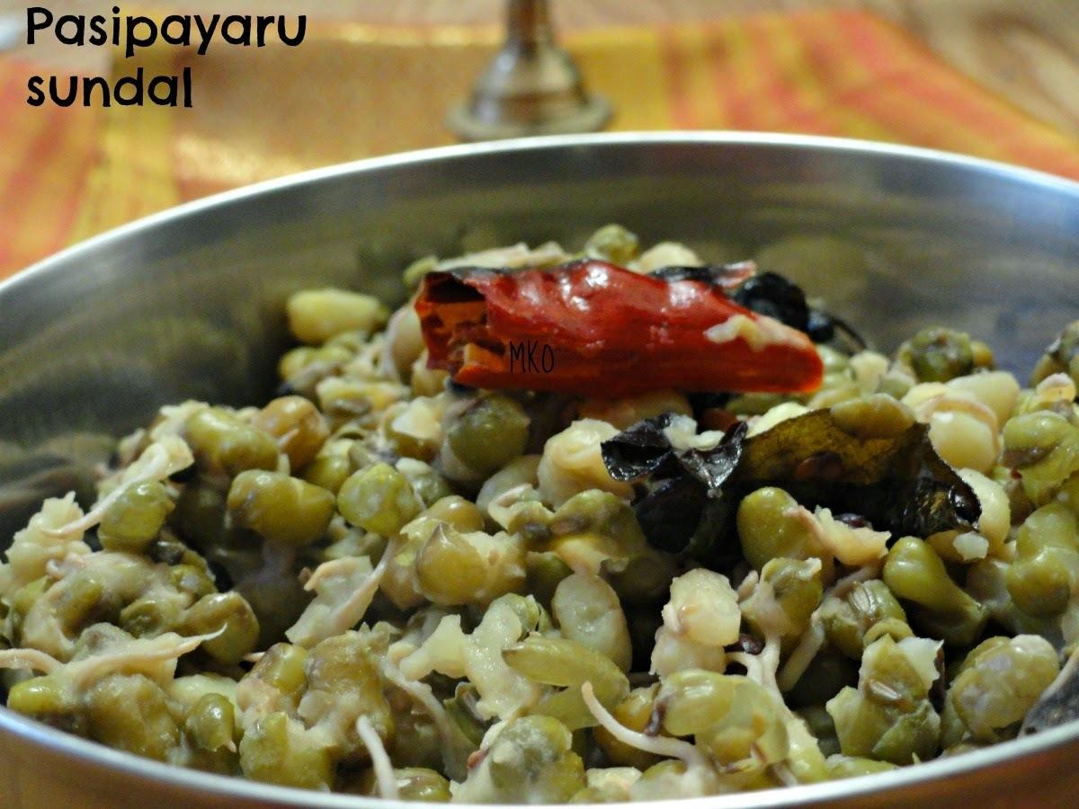 Pasipayaru sundal/Easy SundalRecipe/Sprouts Sundal