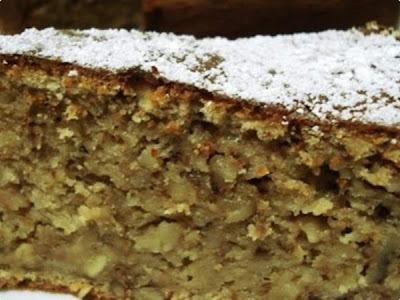 bolo de aveia com banana batido no liquidificador diet