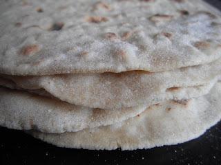 gluten free chappattis / wraps