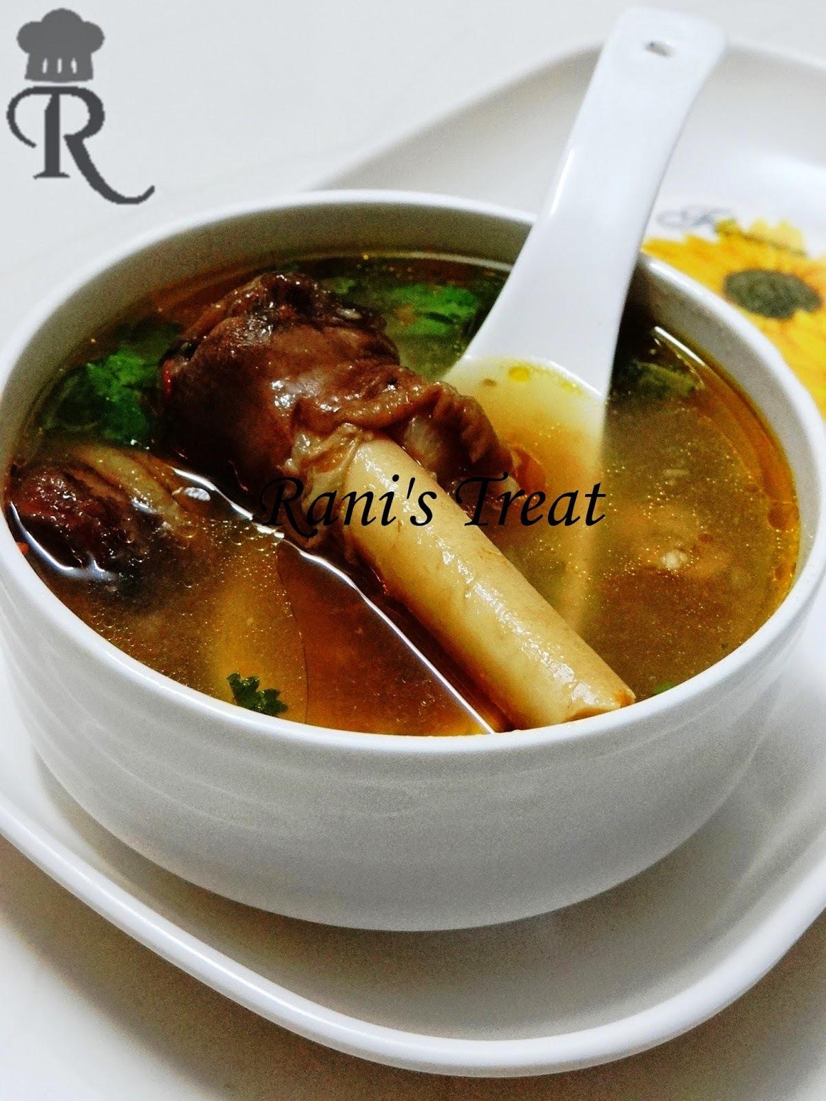 Aattu Kaal Soup | Goat Trotters Soup | Goat Feet Soup