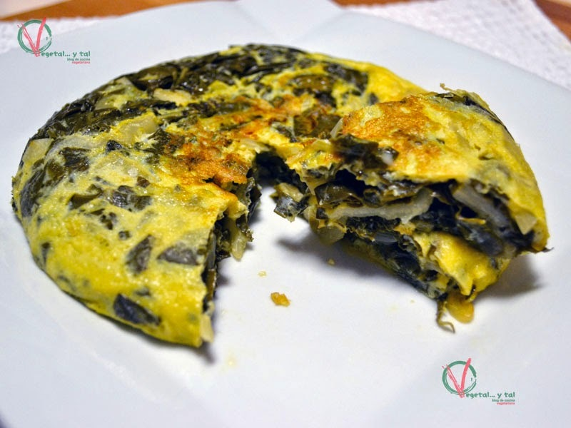 tortilla de acelga light