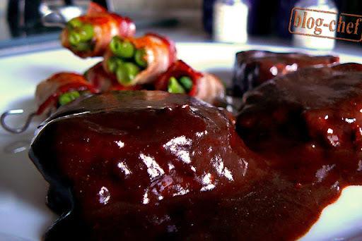 Biftek u sosu od višanja