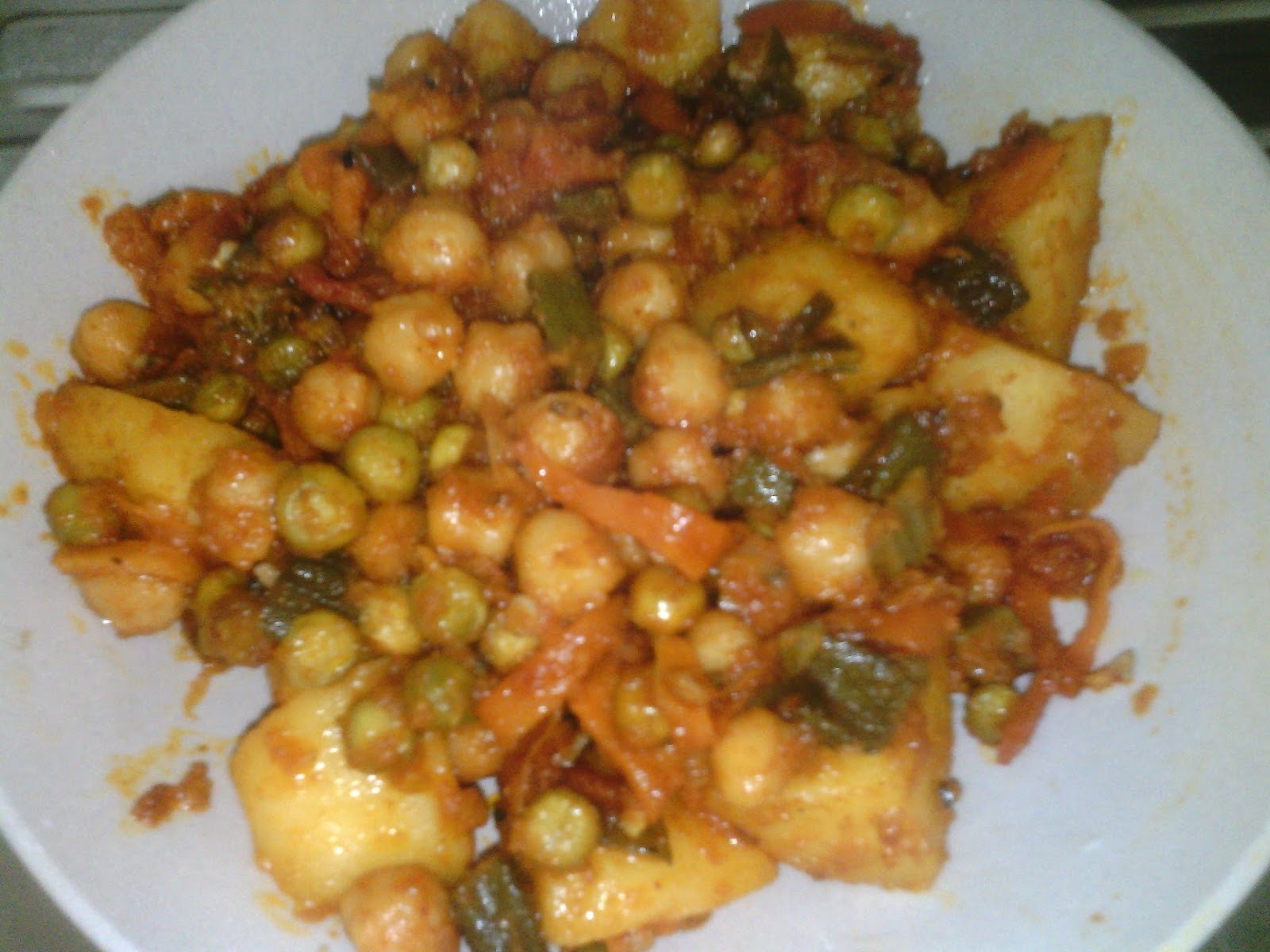 Vegetable Balti Masalah