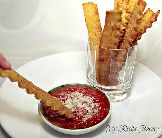 Fried Pasta Stix