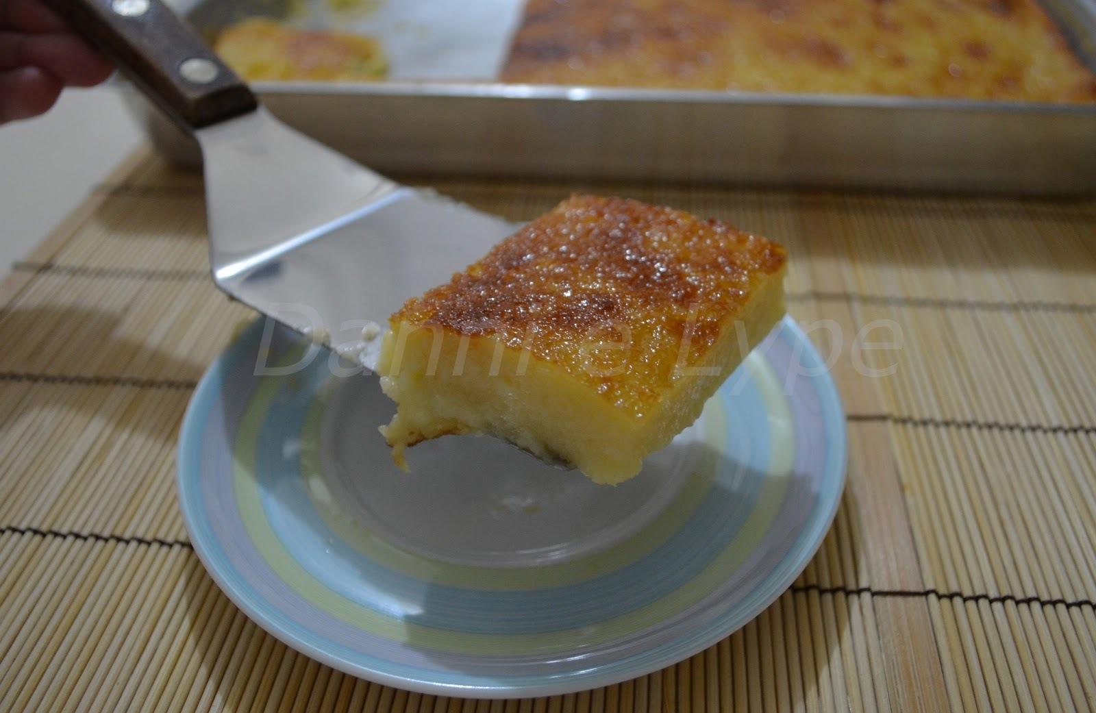 Bom-bocado de Mingau de Milho