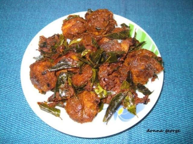 Kerala Prawns Fry