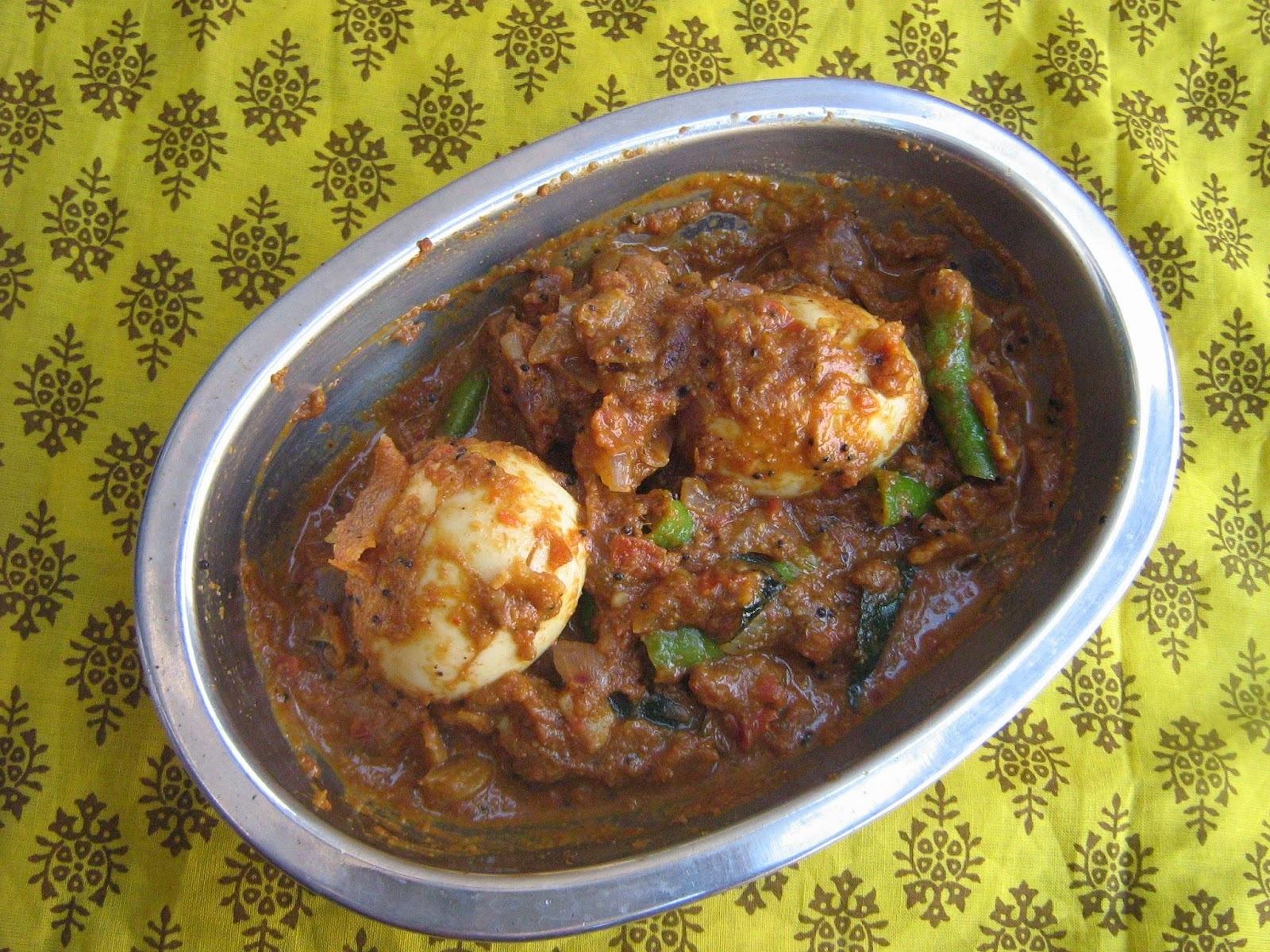 chettinad egg masala