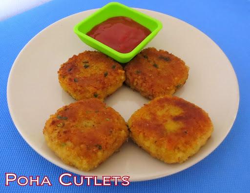 Poha Cutlets