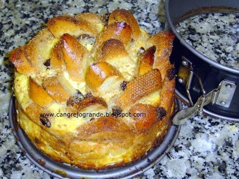Púding de Pan con Mantequilla.