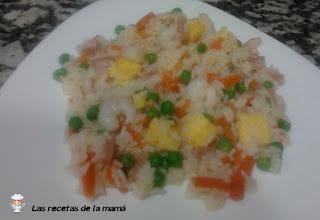 Receta de arroz cinco delicias casero