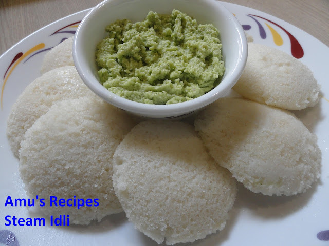Steam Idli