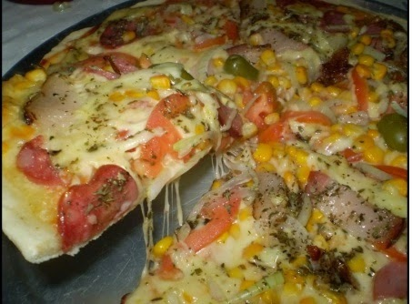 Dia da PIzza com receita de pizza caseira