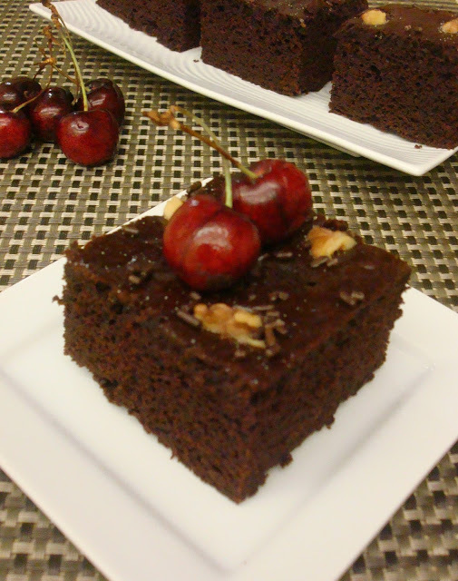 eggless chocolate cake without condensed milk