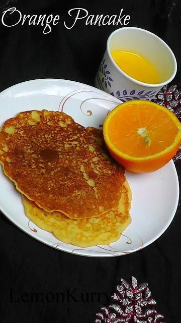 Orange Pancake And Orange Syrup Taste And Create