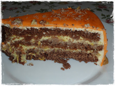 Narancsos tortakrém