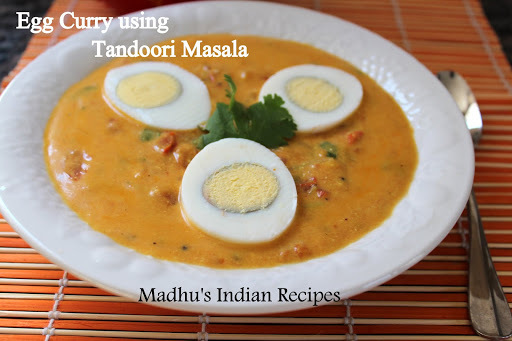 Egg Curry using Tandoori Masala | Indian Egg recipes