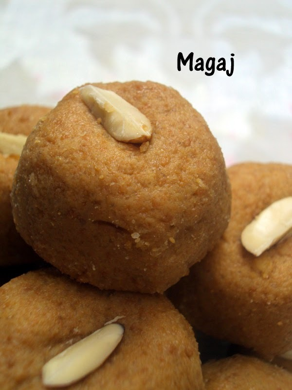 Recipe of Magaj Ladoos, Recipe of Besan Ladoo | How to Make Magaj Ladoos