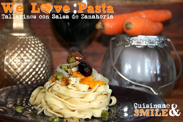 Pasta Fresca | Receta de Tallarines Caseros con Salsa de Zanahorias