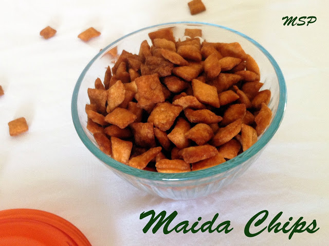 of sweets made from maida