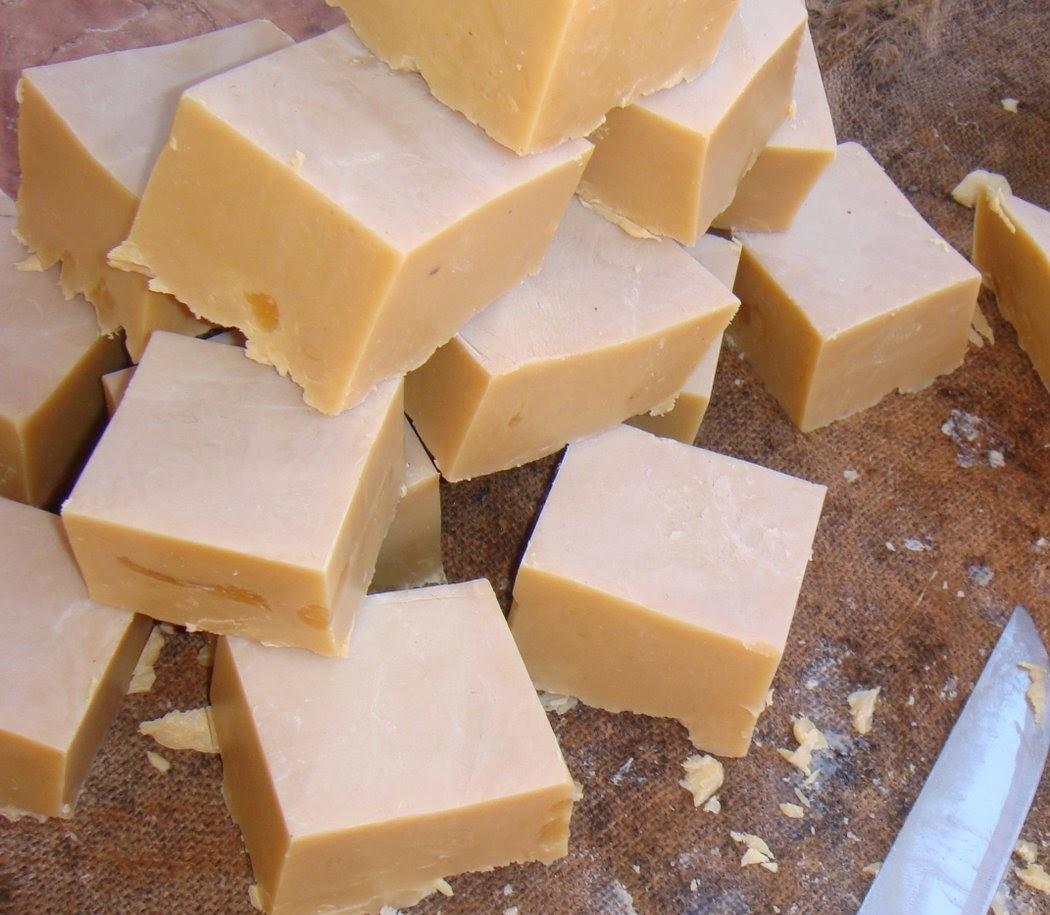 sabão em pasta caseiro