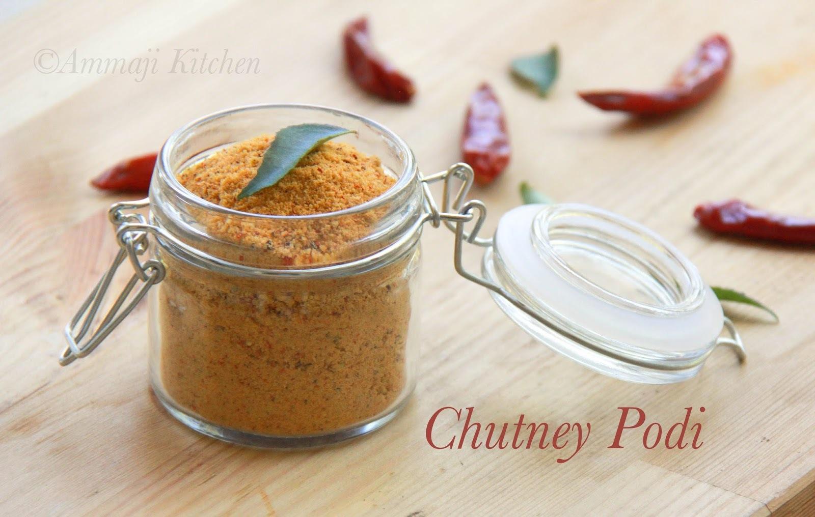 Chutney Podi | Chutney Powder