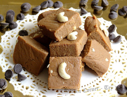 Dulce de leche Chocolate Burfi & Chit chat with Suja Manoj