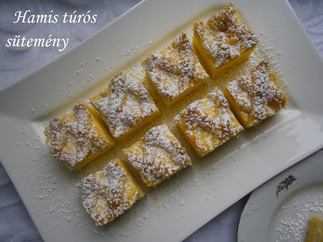 Hamis túrós sütemény Vanillától - Blogkóstoló 5.