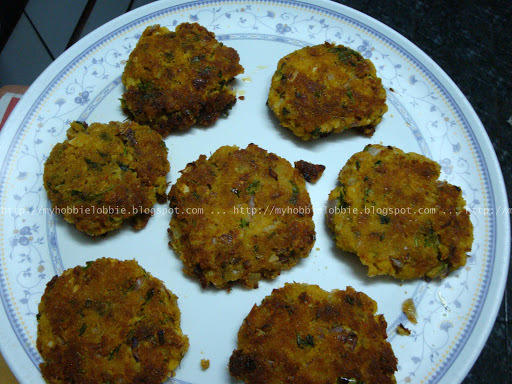 Fish Cakes or Fish Cutlets
