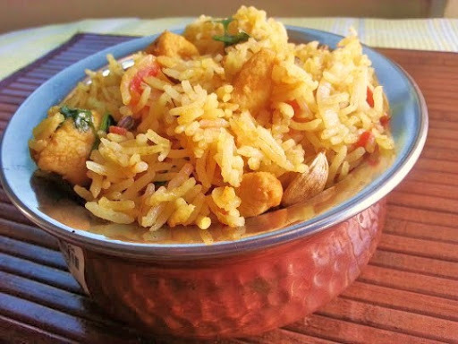 Chicken Biryani cooked in Coconut milk