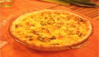 Tarta de calabaza facil con queso rallado