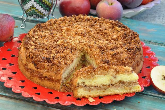 Torta distraída de manzana
