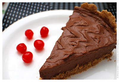 torta mousse de chocolate facil