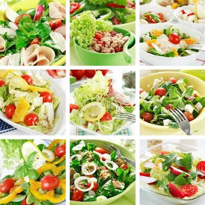 Saladas criativas e supersaborosas