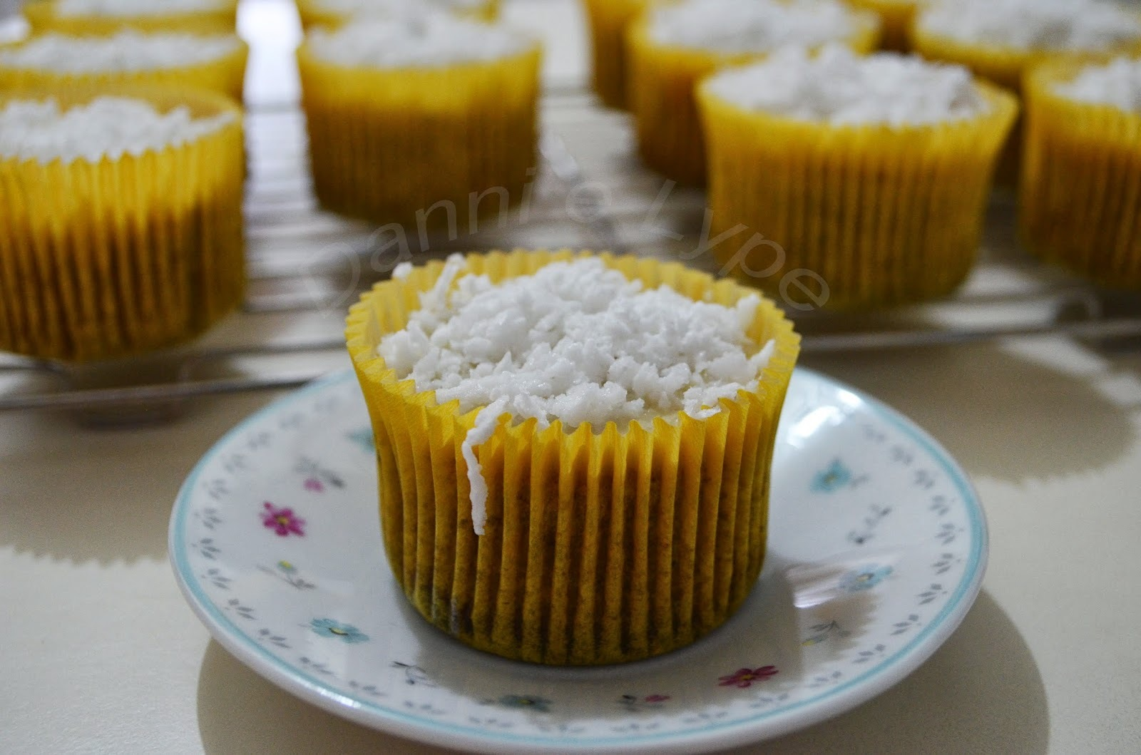 Cupcake de Leite Condensado e Coco (Sem Adição de Açúcar)