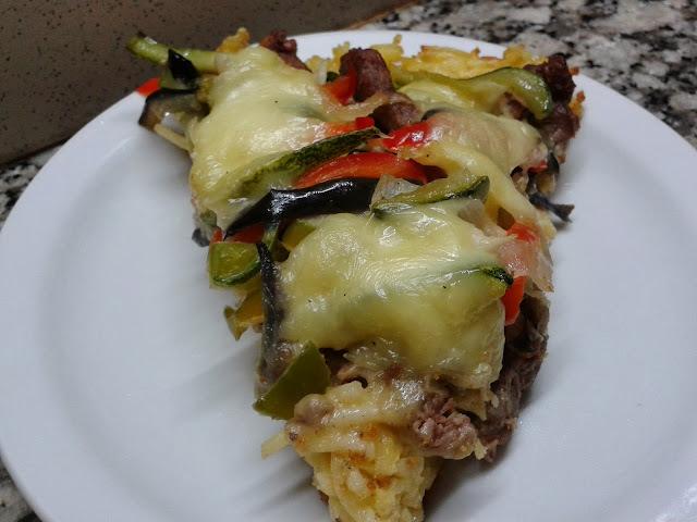 milanesa de zucchini al horno