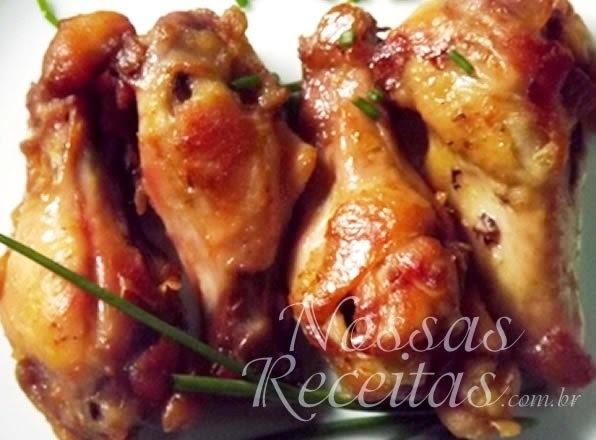 Coxinhas de frango assadas