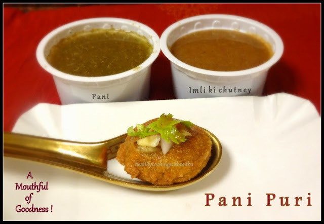 Pani Puri/ Golgappa - A Popular Indian Street Food Item
