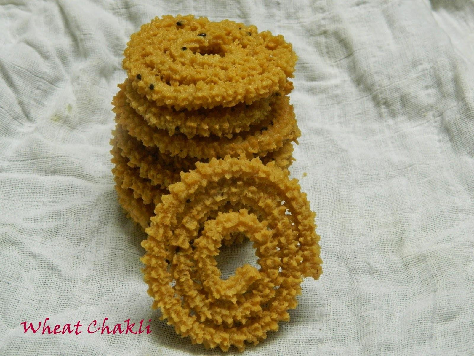 Wheat Chakli,Diwali special
