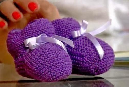 Saiba como fazer um lindo sapatinho de bebê!
