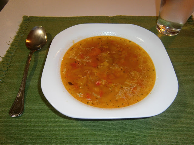 Sopa de Verduras de la abuela (Sopa Juliana)