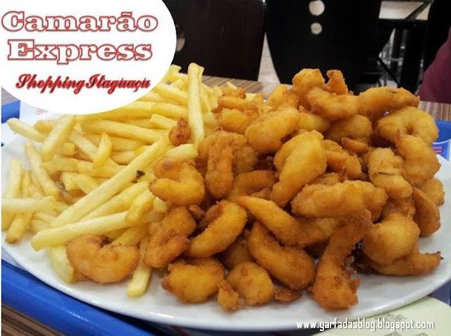Camarão Express: Camarão à milanesa e fritas bem rapidinhos