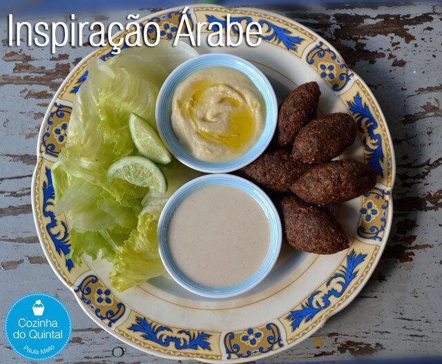 Almoço com Inspiração Árabe