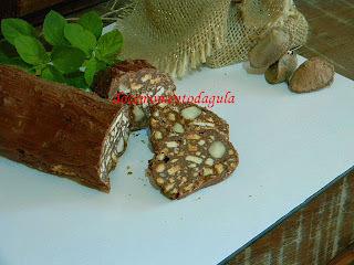 salame de chocolate nestle