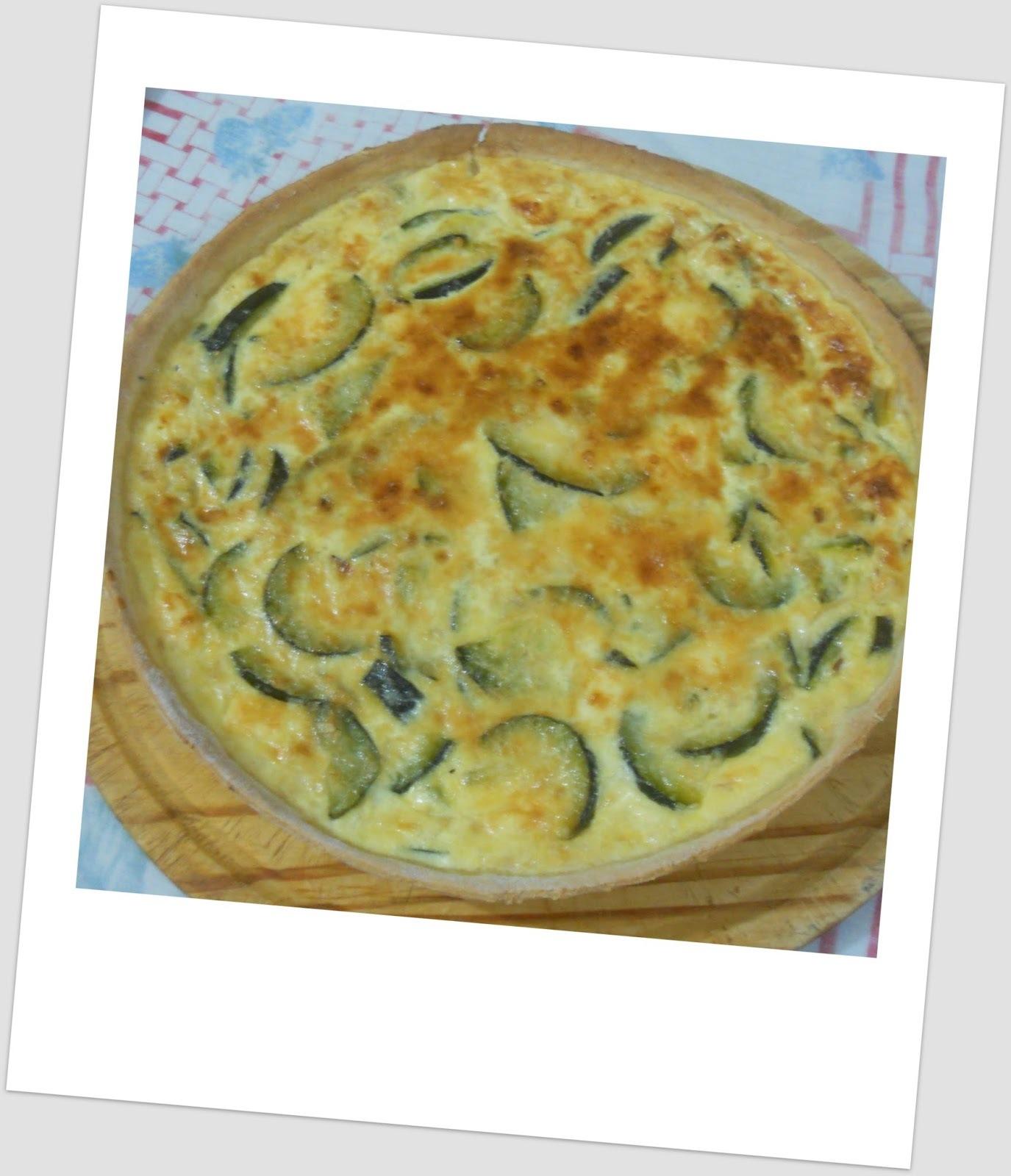 relleno tarta de zapallitos verdes